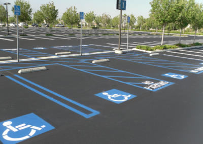ADA Striping and Signage