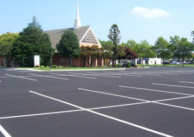 Church Parking Lot