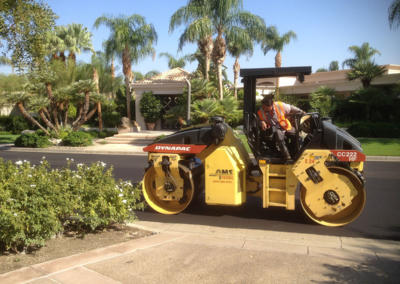 Compacting Asphalt, Coachella Valley