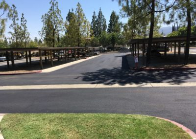 Crown Villas, Asphalt Replacement