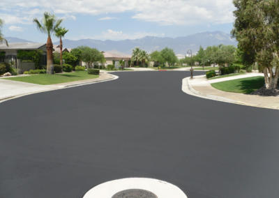 HOA in Palm Desert, Seal Coat