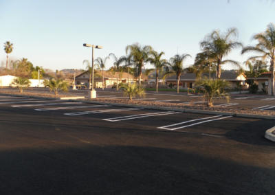 Hemet Methodist Church, New Paving