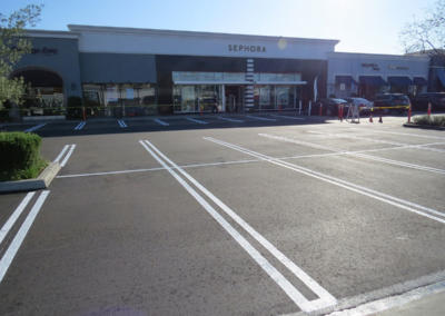 Marina Del Rey, New Paving