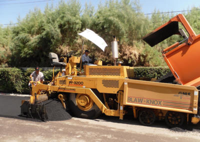 Monterey Country Club, Paving