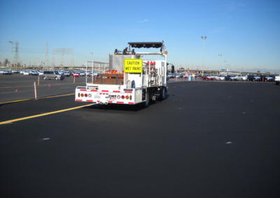 Road Striping Division, Long Beach,