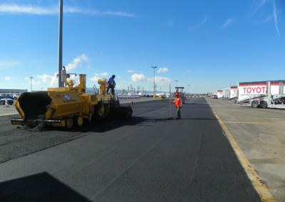 Toyota Long Beach, New Paving