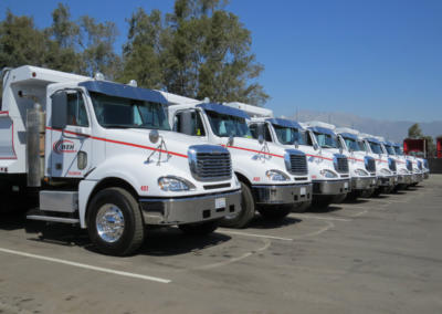 Trucking Division Close Up
